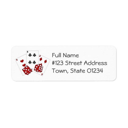 Casino Mailing Labels