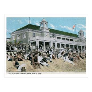 Casino, Palm Beach, Florida Vintage Postcard