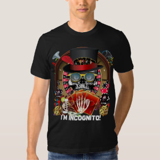 Casino Party Vegas So Go Incognito View Notes Shirts