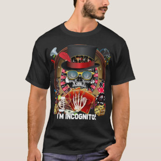 Casino Party Vegas So Go Incognito View Notes T-Shirt