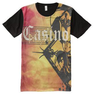 Casino Player Fun Shirt All-Over Print T-Shirt