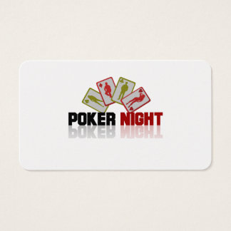 Casino Poker Business Card