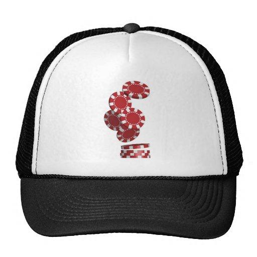 Casino / Poker Chips Hat