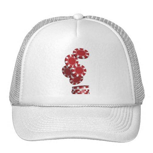 Casino / Poker Chips Hats