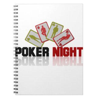 Casino Poker Notebook