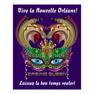 Casino Queen 40x50 Read About Design Below Poster