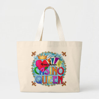 Casino Queen custom name Tote Bag