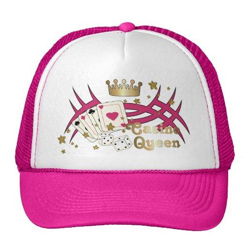 Casino Queen Mesh Hats