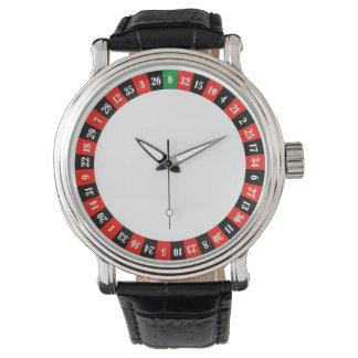 casino roulette wheel watch