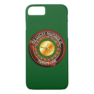 Casino Roulette Wheel With Your Lucky Number iPhone 7 Case
