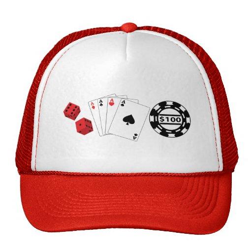 Casino Set Hat
