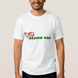 Casino-War Lover's Basic T-shirt