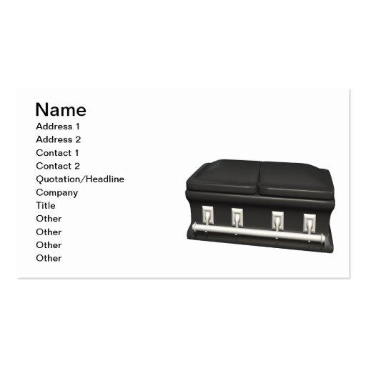 CASKET BUSINESS CARD TEMPLATES