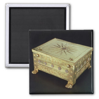 Casket from the tomb of Philip II of Macedon Magnet