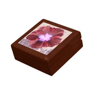 "Casket ""red bloom "" trinket box"