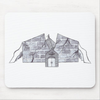 Casle Fall Mouse Pad