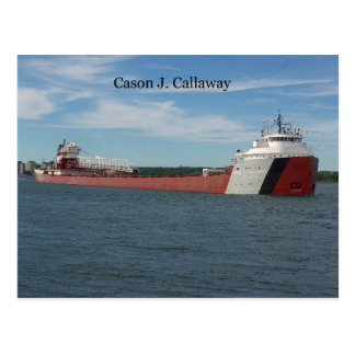 Cason J. Callaway post card