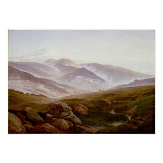 Caspar David Friedrich Memories of Riesengebirge Poster