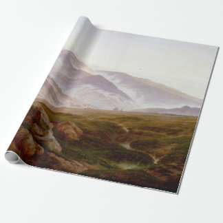 Caspar David Friedrich Memories of Riesengebirge Wrapping Paper