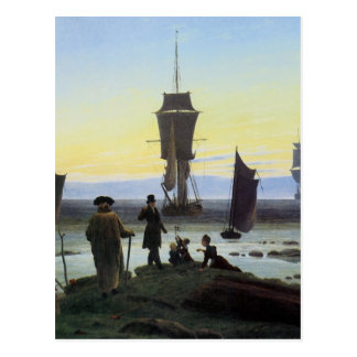 Caspar David Friedrich Stages Of Life Postcard