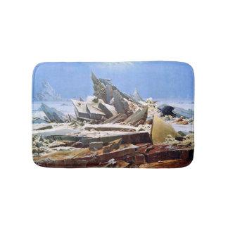 CASPAR DAVID FRIEDRICH - The sea of ice 1824 Bath Mat