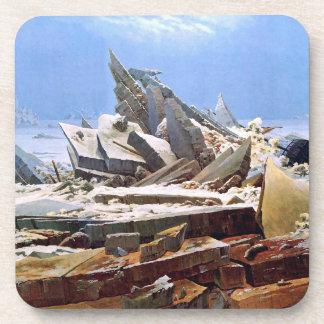 CASPAR DAVID FRIEDRICH - The sea of ice 1824 Coaster