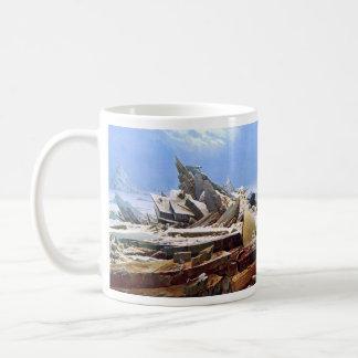 CASPAR DAVID FRIEDRICH - The sea of ice 1824 Coffee Mug