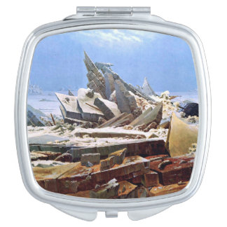 CASPAR DAVID FRIEDRICH - The sea of ice 1824 Compact Mirrors