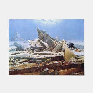 CASPAR DAVID FRIEDRICH - The sea of ice 1824 Doormat