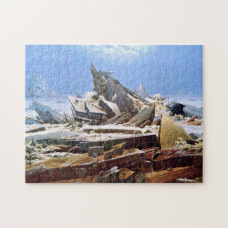 CASPAR DAVID FRIEDRICH - The sea of ice 1824 Jigsaw Puzzle