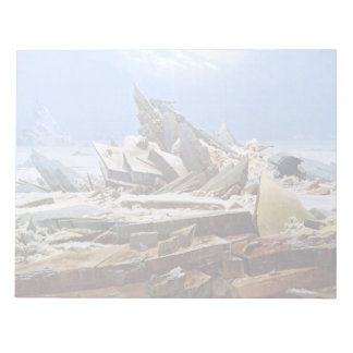 CASPAR DAVID FRIEDRICH - The sea of ice 1824 Notepad