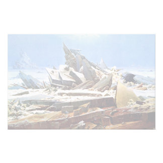 CASPAR DAVID FRIEDRICH - The sea of ice 1824 Stationery