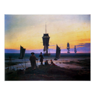 Caspar David Friedrich The Stages of Life Poster