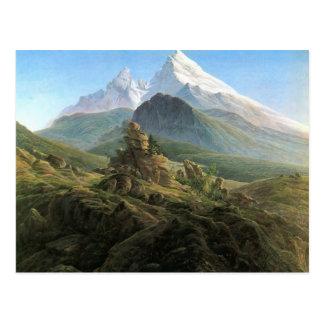 Caspar David Friedrich- The Watzmann Postcard