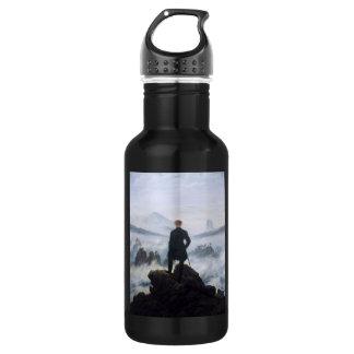 CASPAR DAVID FRIEDRICH - Wanderer above the sea 532 Ml Water Bottle
