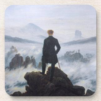 CASPAR DAVID FRIEDRICH - Wanderer above the sea Coaster
