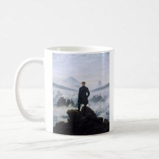 CASPAR DAVID FRIEDRICH - Wanderer above the sea Coffee Mug