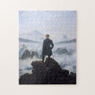 CASPAR DAVID FRIEDRICH - Wanderer above the sea Jigsaw Puzzle