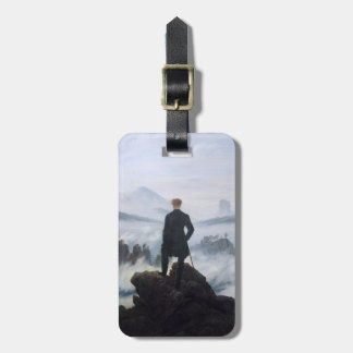 CASPAR DAVID FRIEDRICH - Wanderer above the sea Luggage Tag