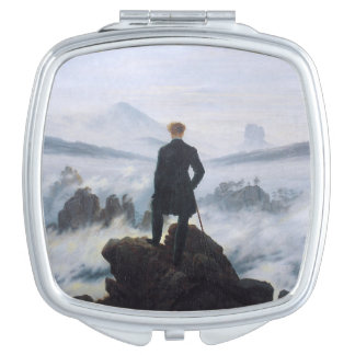 CASPAR DAVID FRIEDRICH - Wanderer above the sea Mirrors For Makeup
