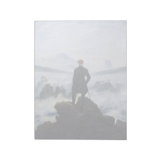 CASPAR DAVID FRIEDRICH - Wanderer above the sea Notepad