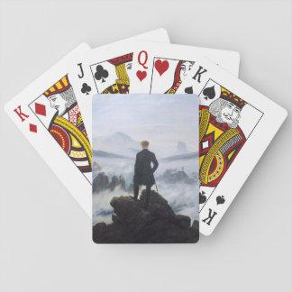 CASPAR DAVID FRIEDRICH - Wanderer above the sea Poker Deck