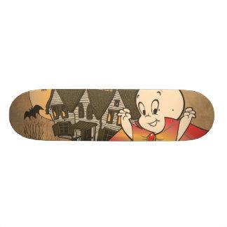 Casper and Haunted House 18.1 Cm Old School Skateboard Deck
