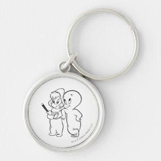 Casper and Wendy Key Ring