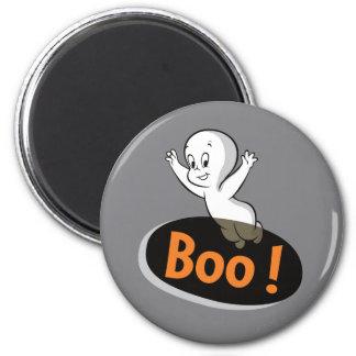 Casper Boo! 6 Cm Round Magnet