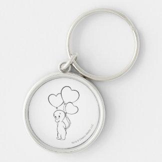 Casper Heart Balloons Key Ring
