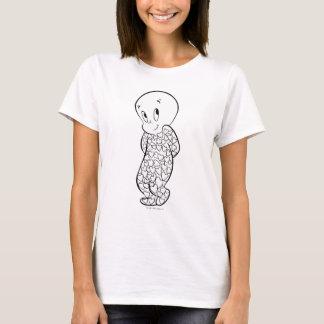 Casper in Heart Pajamas T-Shirt