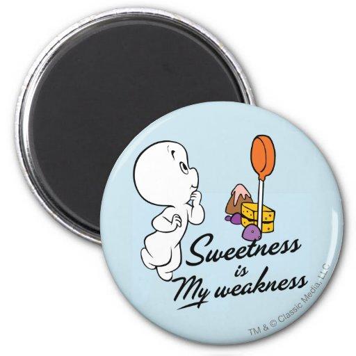 Casper Is My Weakness Fridge Magnet