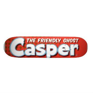 Casper Red Halftone Logo Skateboard Deck