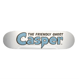 Casper the Friendly Ghost Blue Logo 2 19.7 Cm Skateboard Deck